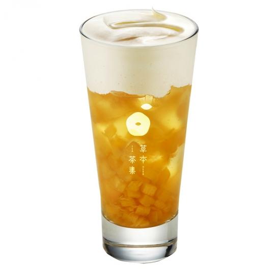 鳳梨冰茶奶蓋